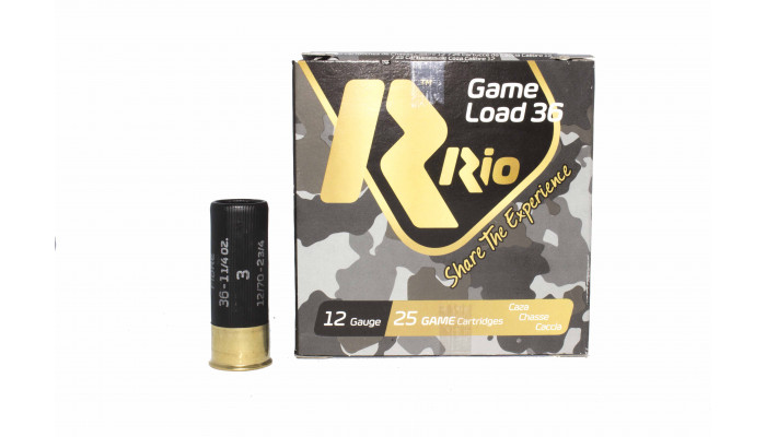 Патрон RIO Game Load №3 36 12/70 36г.