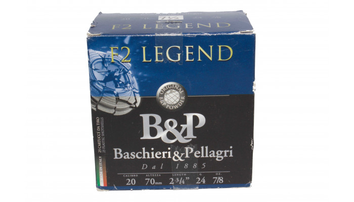 Патрон B&P F2 Legend к-р.20 №7,5 .24 гр